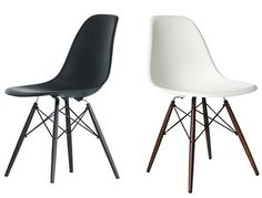Vitra eames dsw chair leg colours exciting new dark for James eames dsw
