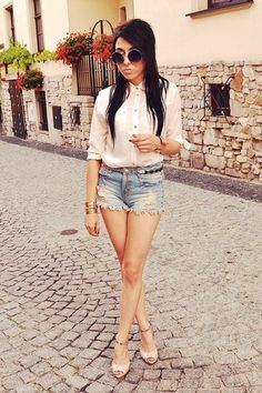 jeans shorts