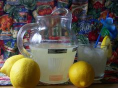 Old-Fashioned  Fresh Lemonade