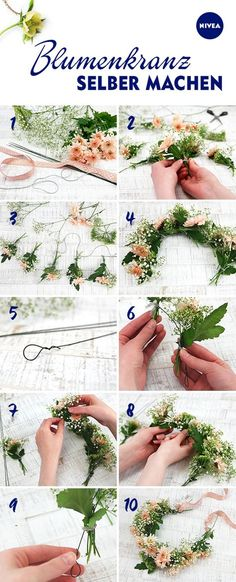 Learn how to make your own flower crown with our friends at Living ...