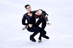 MarieJade Lauriault and Romain Le Gac of France perform during the Junior Dance Free Dance final during day two of the ISU Grand Prix of Figure...
