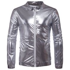Men's Metallic Nightclub Jacket