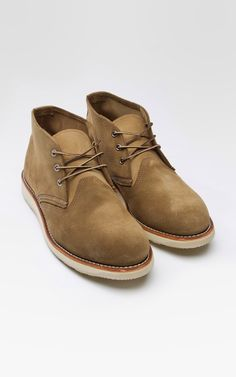 Cultizm.com - 3149D Work Chukka Olive Mohave Red Wing Boots 3149D Work Chukka Olive Mohave 03149D