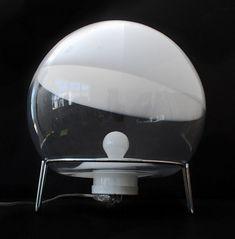 Angelo Mangiarotti; 'Sfera' Table Lamp for Skipper/Pollux, 1978.