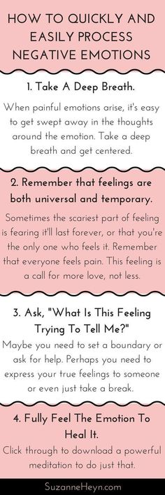 Learn how to release negative emotions like anger and sadness in four easy steps. Click through for a free emotional healing meditation! spirituality self-love self-care yoga inspiration #meditationtips