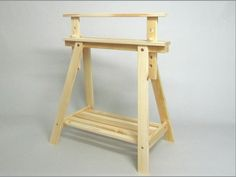 Adjustable sawhorse. REF.1342