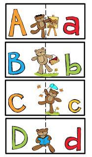 Preschool Printables: Alphabet cards