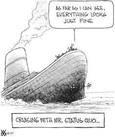 Status Quo... by Quino