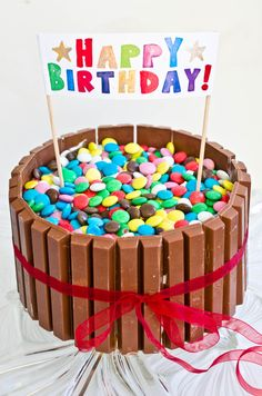 Happy Birthday Cake Photo, Indian Dessert Recipes, Kids Meals, Holiday Recipes, Sprinkles, Cake Recipes, Cake Decorating, Food And Drink, Sweets