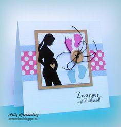 Crea Nellos: Zwanger....... Arts And Crafts, Paper Crafts, Baby Album, Marianne Design, Baby Scrapbook, Card Sketches, Baby Cards, Baby Shower Invitations, Boy Birthday