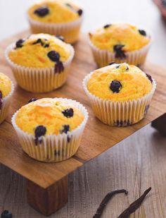 Muffin carote e mirtilli Scopri una morbidezza e una bontà che ti lascerà piacevolmente stupiti!  Carrot and blueberrie muffin