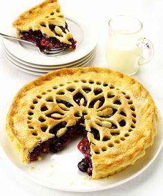 Черничный пирог - Powered by @ultimaterecipe