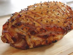 Glazed Baked Ham Recipe : (Ree Drummond)