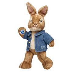 Your favorite Peter Rabbit characters are at Build-A-Bear® Workshop! Shop for unique Peter Rabbit stuffed animals, clothing & accessories online. Peter Rabbit Toys, Peter Rabbit Movie, Peter Rabbit Gifts, Giant Stuffed Animals, Pet Pigs, Best Kids Toys, Build A Bear, Plushies, Monkey