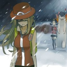 Pokemon Trainer Leaf -- If Red wasn't at the top of Mt. Silver