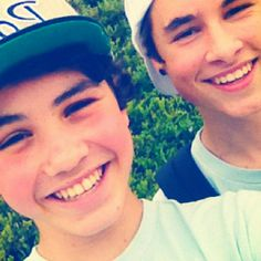 Sam Pottorff & Kian Lawley. Two days out of Seven on O2L