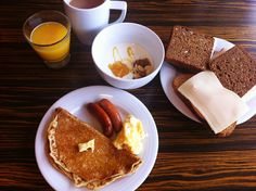 2013.4◇Ibis Styles Stockholm Jarva #breakfast #pancake