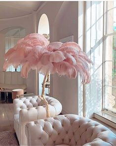 Schönheitssalon Design, House Design, Design Ideas, Chair Design, Design Trends, Modern Design, Feather Lamp, Living Room Decor, Bedroom Decor