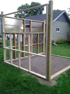 greenhouse from old windows 6yr in the making  just from saving the old windows .... my DREAM !!!!!