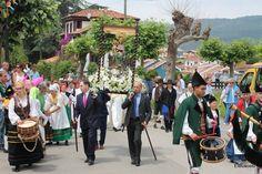 Procesión Fiestas de Loreto  - Colunga