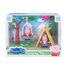Get ready for playtime! This series of playsets (sold separately) includes different playsets and adventures with Peppa Pig. Each playset includes different characters and wonderful accessories to make playtime magical. Toy Cars For Kids, Toys For Girls, Kids Toys, George Pig Toys, Peppa Pig Theme Park, Peppa Pig House, Camping Toys, Happy Birthday Jesus, 5th Birthday