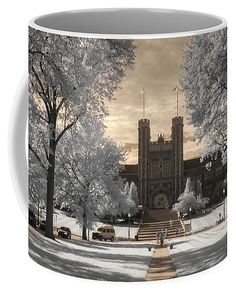 Photograph - Wash U Coffee Mug by Jane Linders , Infrared Photography, Invite Your Friends, Flyer Design, St Louis, Places To Go, Coffee Mugs, Tapestry, Pedestrian, Wall Art