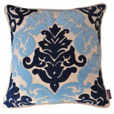 Lilliam Embroidered Crewel Cushion Cover