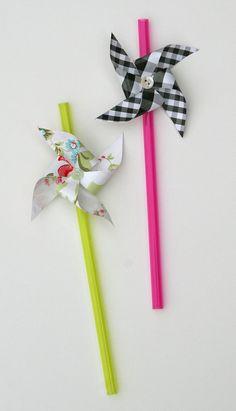 pinwheel straws. brilliant.