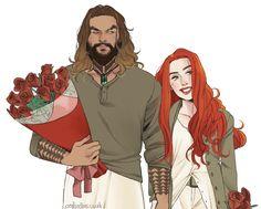 Aquaman y Mera Marvel Dc Comics, Dc Comics Art, Aquaman, Bruce Timm, Justice League, Comic Books Art, Comic Art, Character Art, Character Design