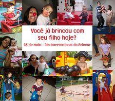 28/Maio Dia Internacional do Brincar #brincar
