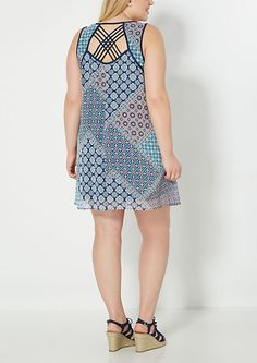 Plus Bohemian Lattice Sundress | rue21