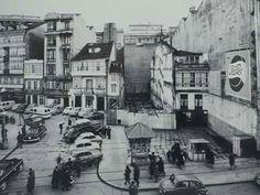 Plaza de Santa Catalina,  principios de los años 60.