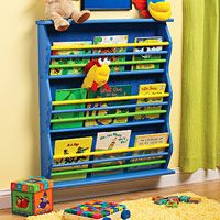 How to Build a Children's Bookrack - Bookcase Projects - Built-ins, Shelves & Bookcases. DIY Advice