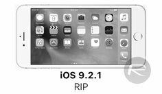 Apple ปิดไม่ให้ ดาวน์เกรด iOS 9.3.1 ไปยัง iOS 9.2.1 และรุ่นอื่นๆ แล้ว