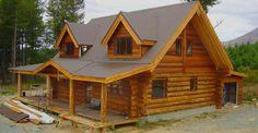 Dream A Little Dream Log Cabin Home