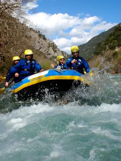 Rafting in Evinos, Nafpaktos, Greece - Mindful Travel Experiences Away We Go, Whitewater Rafting, Travel Couple, Luxury Travel, Outdoor Activities, Rat, Travel Destinations, Places To Visit, River