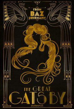 The Great Gatsby #alternative #poster #movie #movieposter