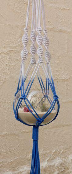 Macrame Terrarium Hangers  Dipped Design por studioraw en Etsy, $149.00