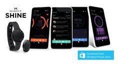 Misfit Shine je teraz kompatibilný s Windows Phone.