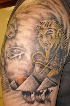 egyptian pyramid tattoo - Google Search