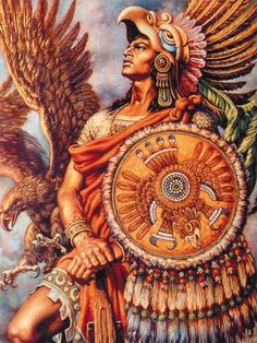 aztec art | Aztec art: They believe the sun is coming to the end of its life