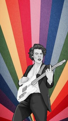 Wallpaper Harry Styles LGBTQ the drawing is not mine Harry Styles Poster, Harry Edward Styles, Desenho Harry Styles, Hary Styles, Harry Styles Drawing, One Direction Art, Protest Art, Drawing Wallpaper, Harry Styles Wallpaper