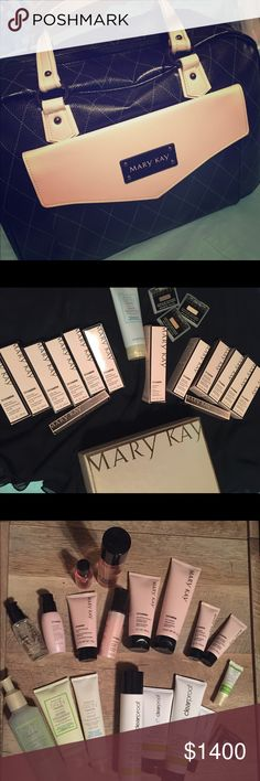 Mary Kay Inventory -Never Used, Brand New I am no longer a distributor as of December so I am wanting to sell my Mary Kay Cadillac bag filled with starter kit, receipt  paper, About Mary Kay books, samples and full bottled products/makeup! This is a great deal for anyone wanting to jump start their adventure with Mary Kay!! (Let me know if you need more information or further details!!) Mary Kay Makeup