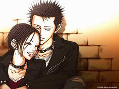 Nana and Ren, anime couple, manga couple, manga Nana Manga, Manga Love, Anime Love, Anime Shojo, Shoujo, Manga Anime, Top Anime, Yazawa Ai, Nana Osaki