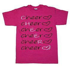 NEW!!!!!!!!!!!!!!    Cheer Love T-Shirt by Cheerleading Company