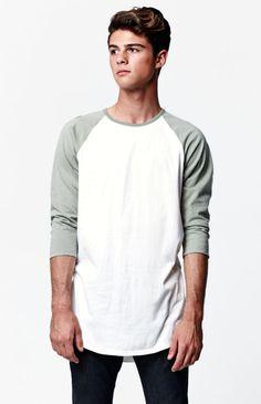 Brett Sleeve Raglan T-Shirt Raglan Tee, My Outfit, Normcore, Hoodies, Shorts, Tees, Long Sleeve, Sleeves, Mens Tops