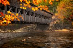 nh fall colors covered bridges photos | 500px / Albany Covered Bridge by Matt Kloskowski