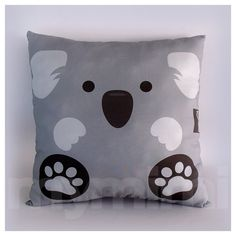 12 x 12 Pillow Koala Bear Animal Pillow Stuffed Animal by mymimi, $21.00