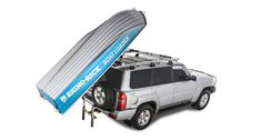 Beach Camper, Land Rover Discovery 2, Car Roof Racks, Roof Box, Sport Boats, Nissan Patrol, Small Boats, Injury Prevention, Boat Building
