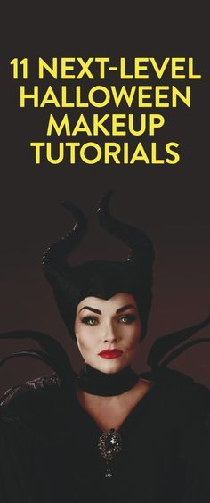 11 next-level Halloween makeup tutorials I know halloweens just been - but I definitely have at least 5 definite costumes I wanna try now!